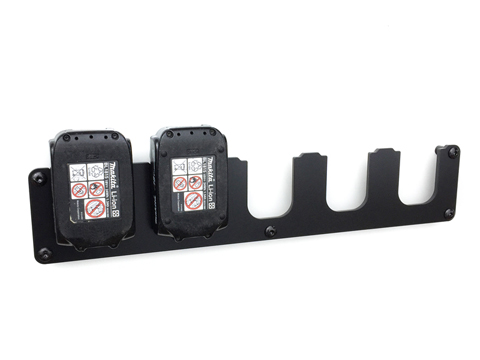 Wandhalterung für Makita Akku 14,4V &  18V LXT Serie Akkuhalter 5-Fach